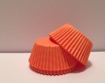 50 count - Grease Resistant Peach standard size cupcake liners/baking cups