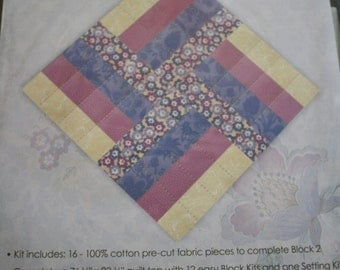 joanns fabrics thistleberry quilt block of the month block 2 rail fence