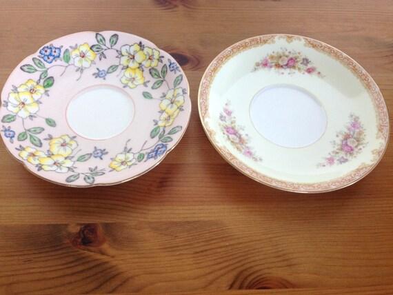 Vintage occupied Japan plates Noritake and Diamond brand discontinued