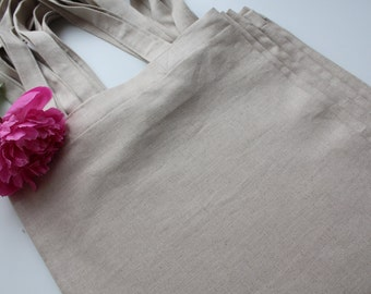 Simple Linen Tote Bag of a Great Quality - Made in Latvia