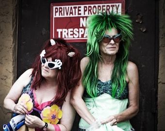 Mermaid Parade, No Trespassing, Fine Art Photography