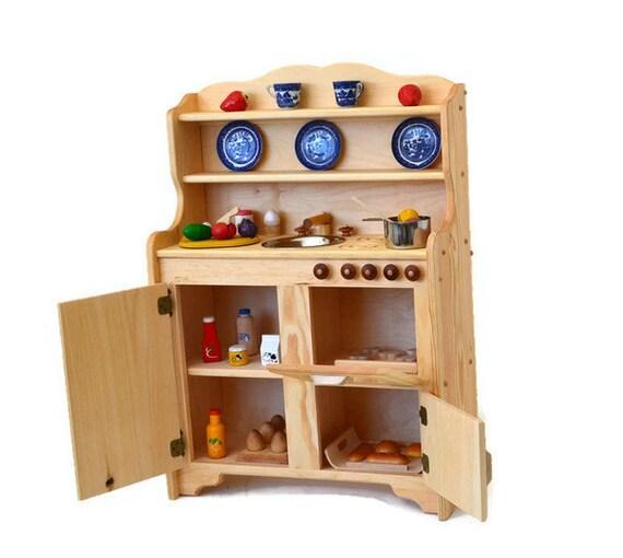 Waldorf Kitchen-Wooden Play Kitchen-Wooden Toy Kitchen