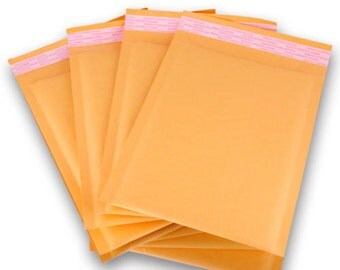 "250 Kraft  6""x 10"" bubble mailer Premium MADE Kraft Bubble Padded Mailers Envelope Bags"