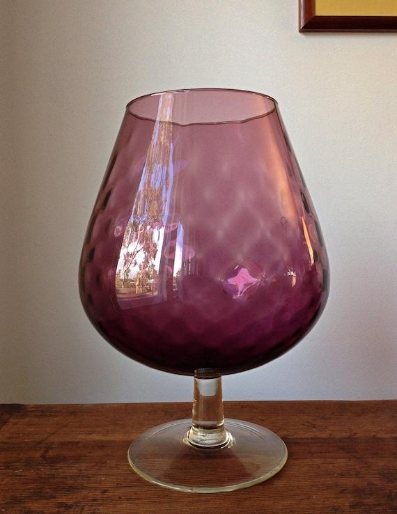 Brandy Glass Vase Brandy Balloon / Vase