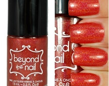 Infrared - Bright Holographic Red Glitter Polish