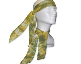 Neck Cooler, Head Wrap, Cold Wrap, Cooling Wrap, Cool Ties, Cooling Ties, Cooling Bandana, Cold Scarf, Shibori Tie Dye