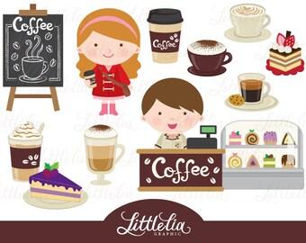 Coffee clipart - Coffee shop clipart - 15038