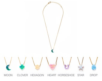 Opal Charity Charm Necklace