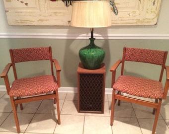 Pair of Mid Century Spottrup Danish Chairs