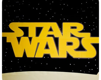 Star Wars DIGITAL Background; Star Wars Background; Star Wars decor; Star Wars Party; Star Wars Birthday Party Decor