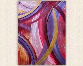 Revelry: 18 x 24 Acrylic Painting