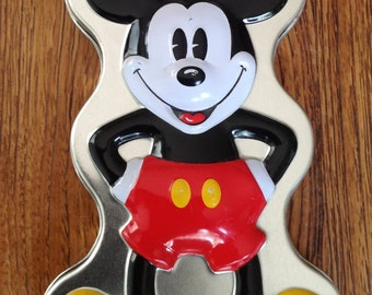 Walt Disney Mickey Mouse Watch Tin Only