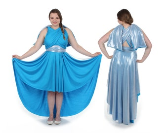 Ice Queen inspired Convertible Dress