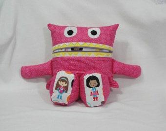 Monster Pajama Eater/ Superhero/ Stars/ Pajama Eater/ Pillow Friend/ Pajama Keeper/ Pillow/ Pajama Bag/ Stuffed Toy/ Secret Keeper