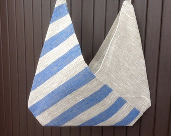 clothes peg bag / peg bag / linen bag / bento bag