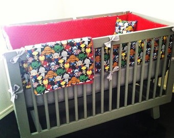 Super Hero Crib Bedding