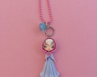 fairy godmother fimo, polymer clay