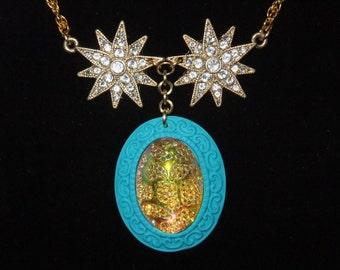 Jeweled Starburst Necklace