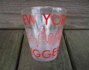 New York City Jigger Glass