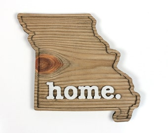 Missouri home. Rough Cut Mill Wood Wall Hanging