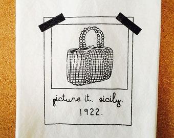 Golden Girls Inspired Tea Towel