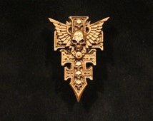 Warhammer 40K Inquisition Icon - marine space imperial model fantasy sci costume game chaos sword weapon jewellry scenery tank gun 40K guard