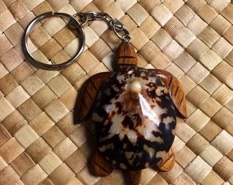 Turtle Opihi Keychain