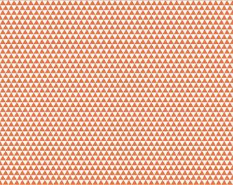 Riley Blake - Oh Boy C3305 Orange Triangles