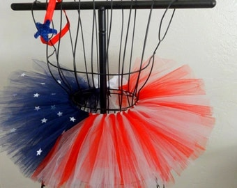 Girls 4th of July tutu, Baby July 4th tutu, Red white and blue tutu, 4th of July tutu set, Independance Day tutu, Fourth of July tutu