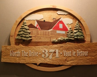 CUSTOM CARVED SIGNS By Lazy River Studio | Custom Wood Signs | Home Signs | Cabin Signs | Cottage Signs | Chalet Signs | Vacation Home Signs