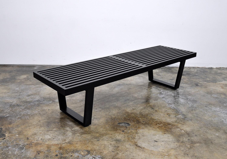 George Nelson Herman Miller Slat Bench Mid Century Modern