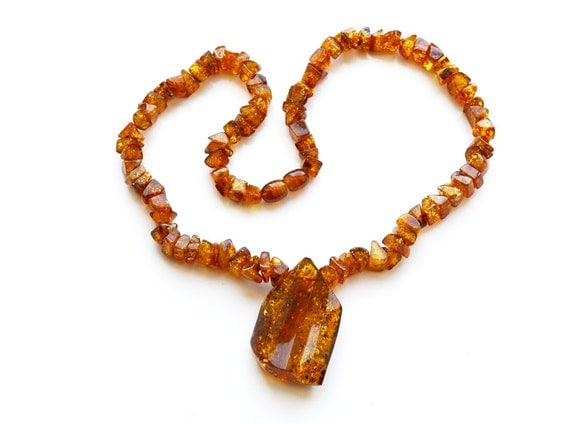 natural brown baltic amber necklace 41 cm or 161 inch short. Black Bedroom Furniture Sets. Home Design Ideas