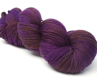 Baah La Jolla Yarn Color Grape Vine Hand Dyed Premium Artisan Yarn!    400 Yards! Regular Price 29.00