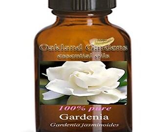 5 mL x GARDENIA Essential Oil - Euro Dropper - 100% Therapeutic Grade - Gardenia jasminoides Powerful love attracting scent   A+ aphrodisiac