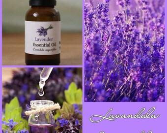 Lavender Essential Oil 100 Pure and Uncut 1 Dram, 15ml (.5oz), 30ml (1oz)