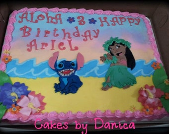 Lilo & Stitch Cake Kit