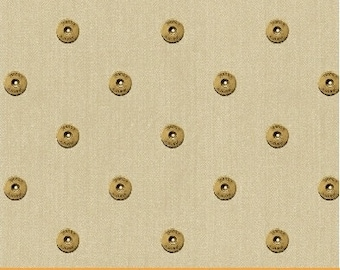 Limited Edition Rivits (Cream) by Whistler Studios for Windham Fabrics, 1/2 yard, 40710-3