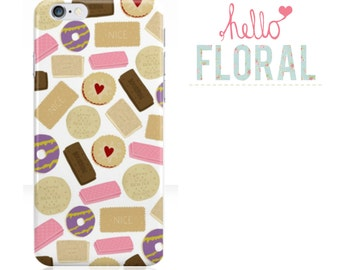 Classic Biscuits iPhone 4/4S 5 5c 5s Samsung Galaxy S2 s3 s4 s5 Ace iPod Touch 4th 5th hard case