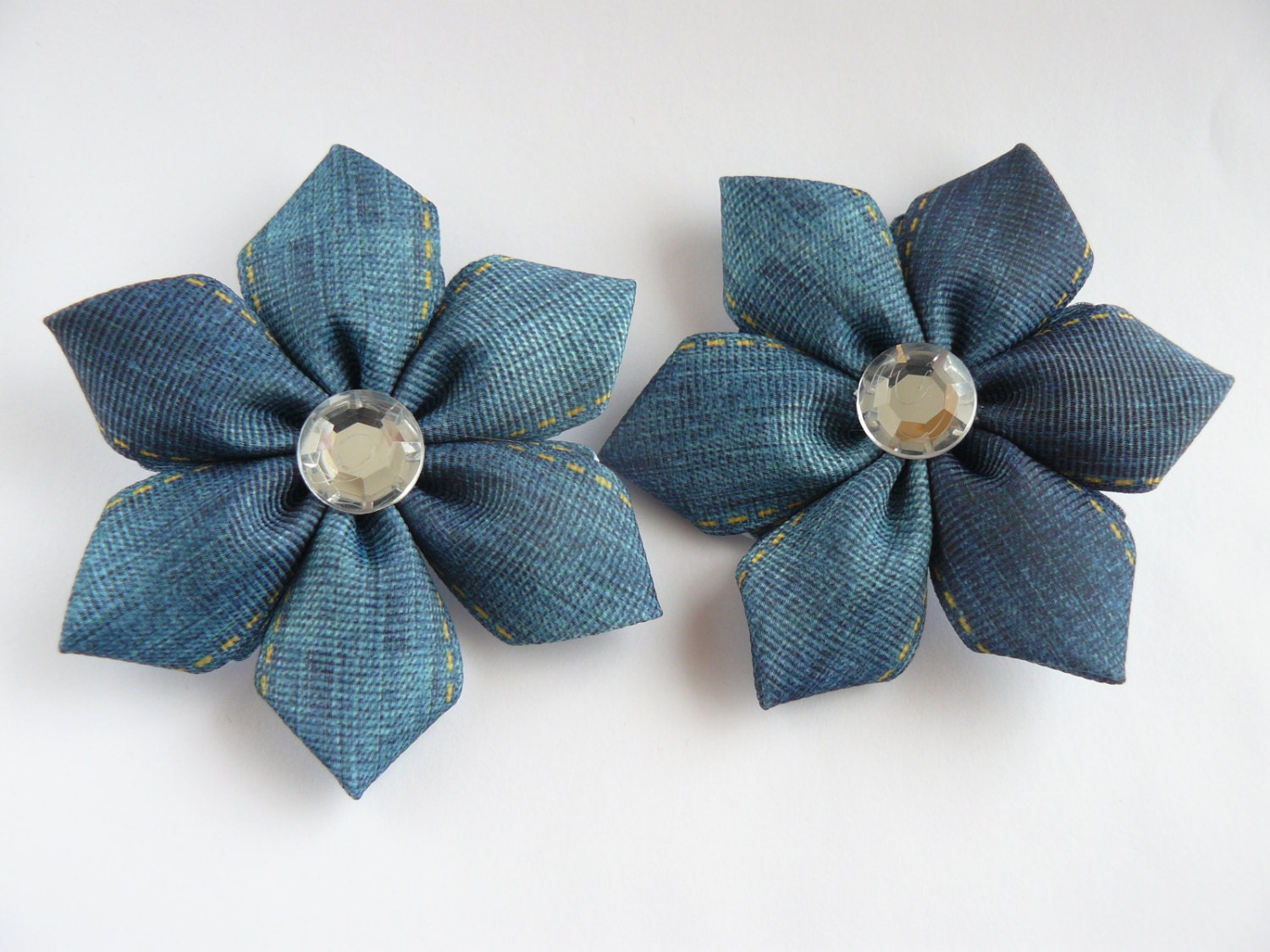 how to make kanzashi hair bows