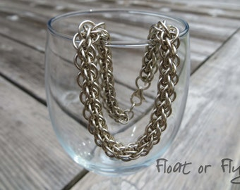 Jens Pind Linkage Chain Maille Bracelet - Sterling Silver