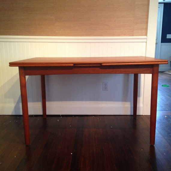 danish mid century modern teak dining table 650 obo free nyc