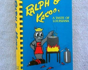 Ralph and Kacoo A Taste of Louisiana Cookbook Cajun Creole Gumbo Recipes Crawfish Recipes b17