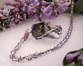 """Pendant with quartz """"Flora"""""""