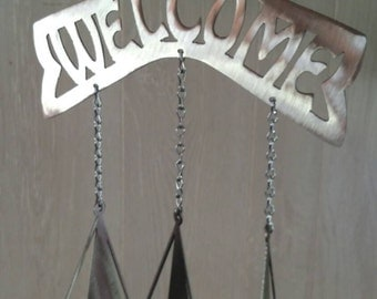 Sailboat Welcome Wind Chime
