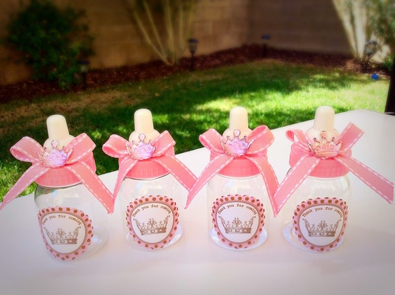 baby shower favors princess baby shower little princess baby shower