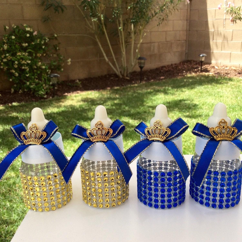 Royal Blue Baby Shower Theme