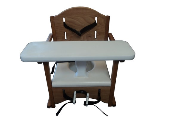 Folding Wooden Potty Chair With Tray