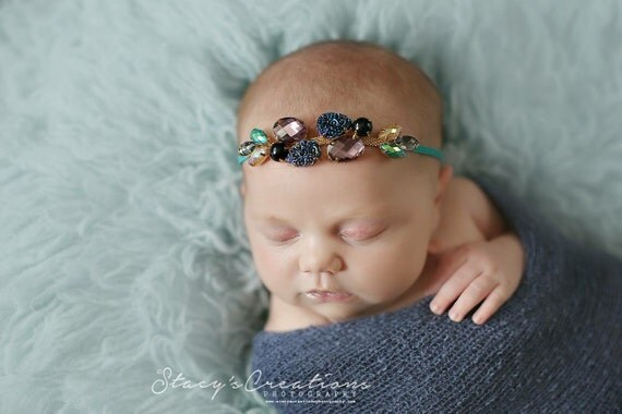 couture rhinestone bands the tiny blessings boutique