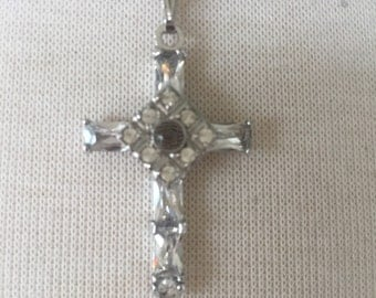 Sale Stanhope cross necklace with the Lord's Prayer inside
