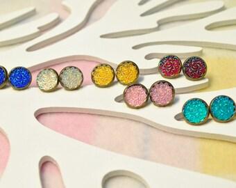 Girls earrings - Swirls